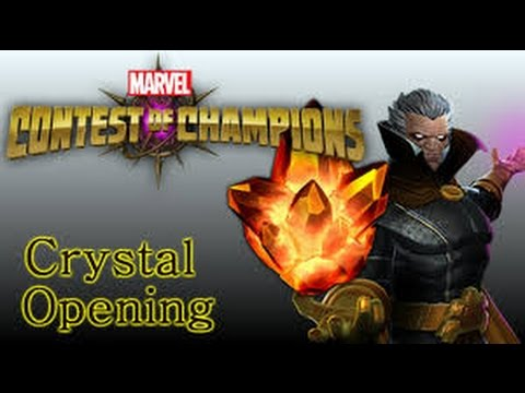 4 star crystal opening, cajun crystal and inclement crystals