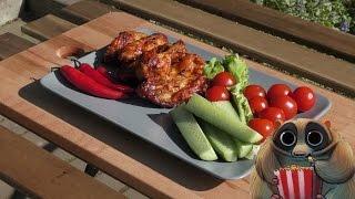 Куриные крылышки в кисло-сладком соусе | Грильков