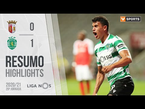 Highlights | Resumo: SC Braga 0-1 Sporting (Liga 20/21 #29)