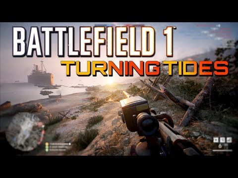 Battlefield 1: A Struggle Of A Game on Turning Tides! NEW DLC (1440p 60fps)