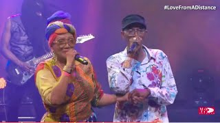 Marcia Griffiths And Beres Hammond Performed At #LoveFromADistance Concert