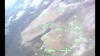 Shuttle Landing from the COCKPIT