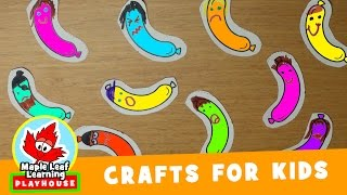 Ten Fat Sausages Craft for Kids | Maple Leaf Learning Playhouse