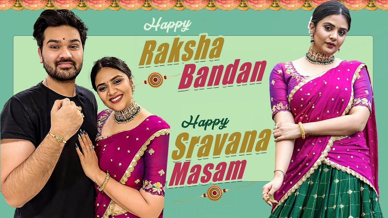 Raksha Bandan and Sravanmasam Vlog || Sushruth || Sreemukhi