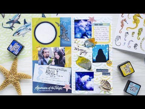 Creative Journal With Me #1 + mini VLOG | Aquarium of the Pacific