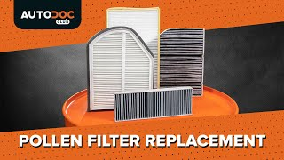 How to replace Cabin filter on - video tutorial