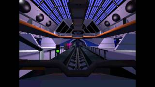 Disneyland Space Mountain Roller Coaster Tycoon 3 Recreation