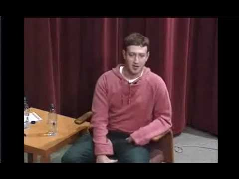 James W. Breyer and Mark E. Zuckerberg Interview, Oct. 26, 2005, Stanford University
