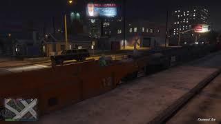 Grand Theft Auto V - Train Ride