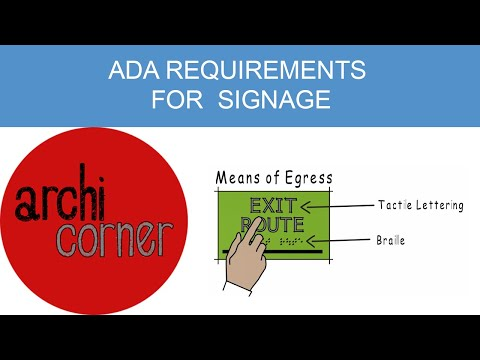 AC 008 - ADA requirements for signage