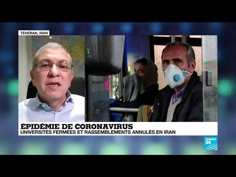 Coronavirus en Iran: le gouvernement adopte les mêmes mesures de sécurité que la Chine