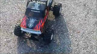 Brushless Tamiya Blackfoot 3