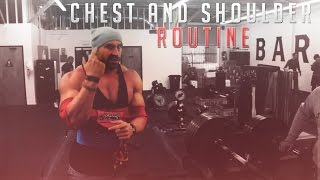 Bradley Martyn - Chest And Shoulder Routine