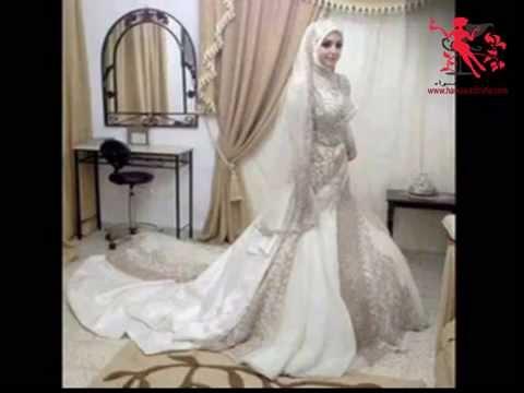 فساتين الزفاف للمحجبات 2015