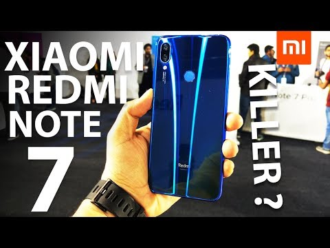 MI REDMI NOTE 7 Hands On review in HINDI: PRICE IN INDIA & CAMERA TEST
