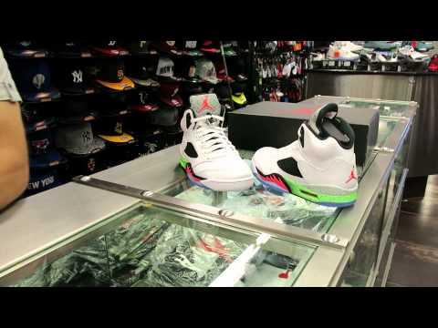 Nike Air Jordan Retro 5 Pro Stars / Space Jams at Street Gear, Hempstead NY
