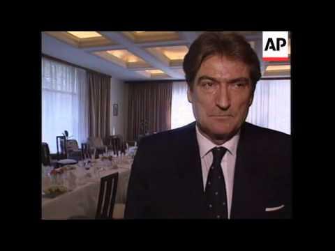 ALBANIA: DUTCH FOREIGN MINISTER HOLDS TALKS WITH PRESIDENT BERISHA