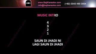 Saun di jhadi - Video Karaoke - Babu Maan - by Baji Karaoke