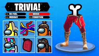 GUESS The AMONG US TRIVIA in Fortnite (TEST)