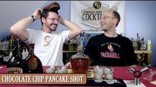 Chocolate Chip Pancake Shooter