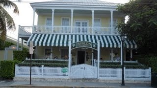 AVALON B & B BED AND BREAKFAST KEY WEST FLORIDA AROUND £90 GBP PER NIGHT