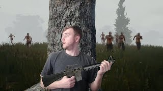 Player Unknown Battlegrounds THERE ARE SO MANY ZOMBIES! with SSundee, Garrett and Hotted!