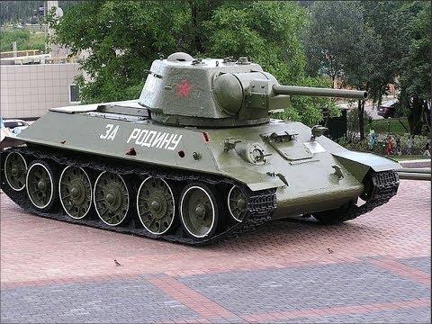 Т -34 и его модификации.  Слайд шоу