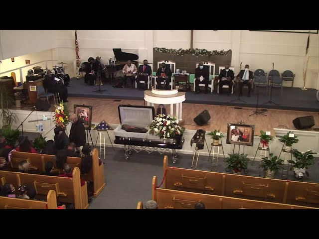 Funeral Services for Cleveland Luster