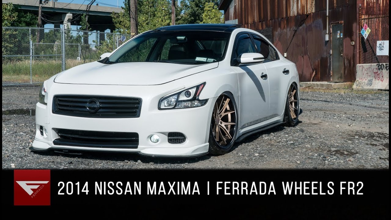 2014 Nissan Maxima Ferrada Wheels Fr2 Matte Bronze Youtube
