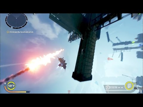 Star Fox on Steroids! Strike Vector Ex Gameplay - Playstation 4 and Xbox One (Strike Vector Ex)