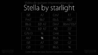 Stella by Starlight : Backing track
