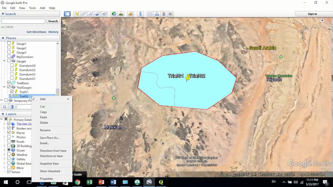 construction of voronoi or thiessen polygon via qgis in arabic  [ 1280 x 720 Pixel ]