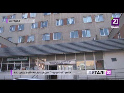 21 channel: Ужгород наближається до «червоної» зони