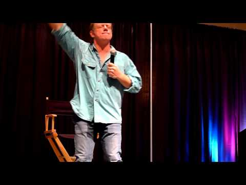 Supernatural's Fred Lehne Dancing on stage at the 2010 Chicago Con