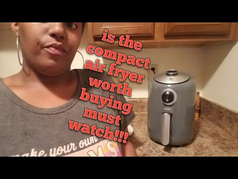 How The Compact Air Fryer Work Must Watch