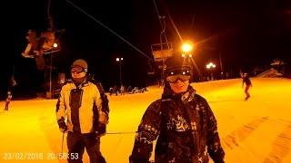 видео Горные лыжи в Подмосковье
