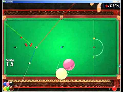 Carom3d cheat : carom Hack v0.1 - Normal Snooker - aiming lines (cheating) Program