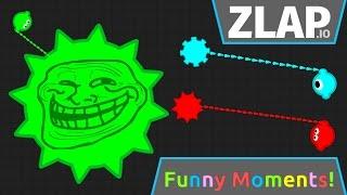 Zlap.io Funny Moments & High Score!! -New ZLAP.iO Game!! Pro Gameplay & Insane Close Calls!