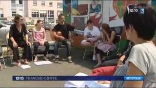 JT 12/13 - France 3 Franche-Comté - ITEP Leconte de Lisle (2013)