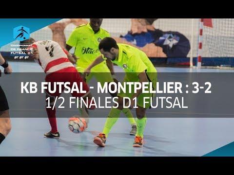 D1 Futsal, 1/2 finales : Kremlin Bicêtre - Montpellier 3-2