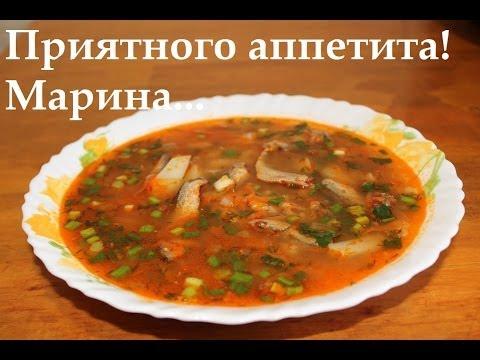 Суп из кильки в томате в мультиварке