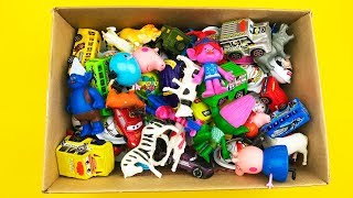 Many Little Toys Little Toys In a Box Cars Animals Learn Colors children