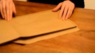 Como dobrar folhas A3, A2, A1, A0