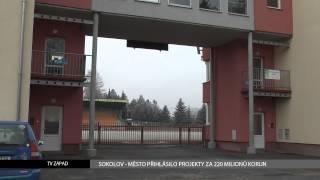 Sokolov: Město přihlásilo projekty za 220 milionů korun (TV Západ)