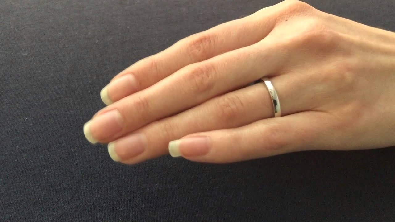 3mm Wedding Ring Flat Shape Amp Flat Court Shape View
