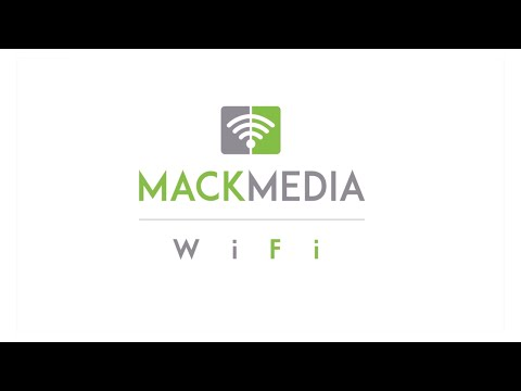 A Mack Media YouTube video explaining the company's Smart Media WiFi system.
