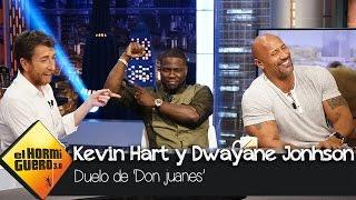 ¿Quién liga más, Dwayne Johnson o Kevin Hart? - El Hormiguero 3.0