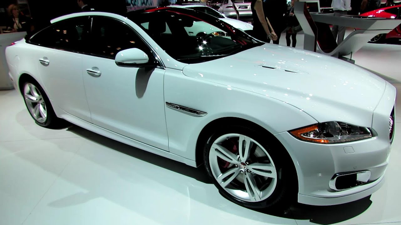 Superbe 2014 Jaguar XJ R   Exterior And Interior Walkaround   2014 New York Auto  Show