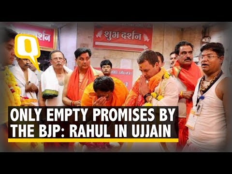 J&K On Fire Because of PM Modi's Mistakes: Rahul Gandhi in Ujjain | The Quint
