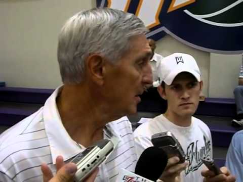 Jerry Sloan interview camp